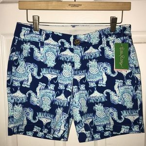 NWT Women's Lily Pulitzer Jayne Stretch Short $78